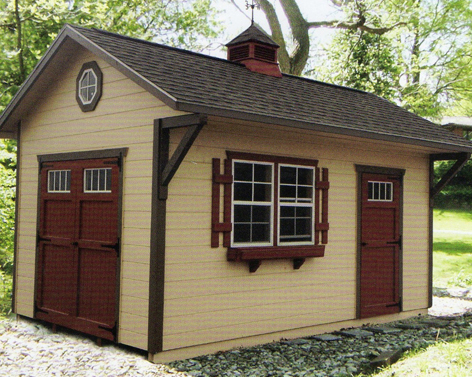 millers barns is an amish barn company located in millersburg ohio - Garden Sheds Ohio